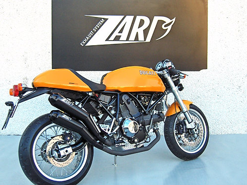 Zard Exhaust - Ducati S1000 - Silencers
