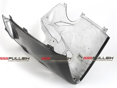 FullSix Carbon Belly Pan For Akrapovic Slip On / Full System - Ducati V4