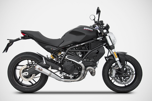 Zard Exhaust - Ducati Monster 797 / 659 - Slip On