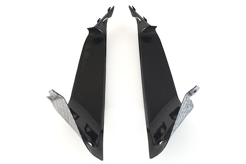 FullSix Carbon Airtube Covers - Ducati 939 SuperSport