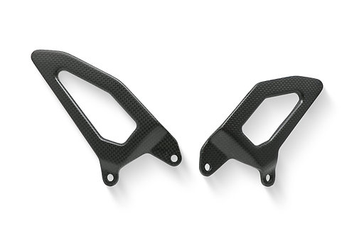 CNC Racing - Carbon Heel Guards (CNC Rearsets Only) - Ducati V4