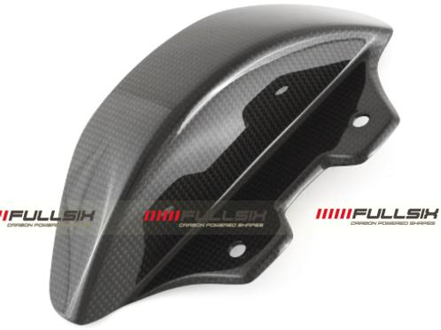 FullSix Carbon Chain Guard - Ducati Diavel