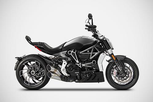 Zard Exhaust - Ducati X Diavel - Steel Full System