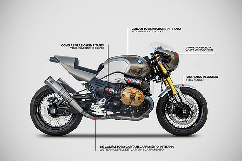 Zard Exhaust - BMW R nineT - Accessories