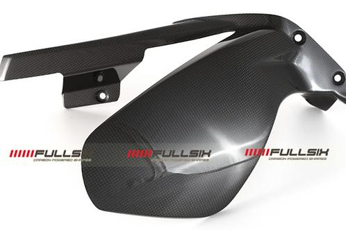 FullSix Carbon Rear Mudguard / Hugger - Ducati V4