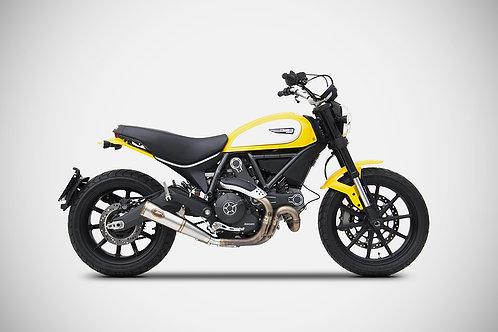 Zard Exhaust - Ducati Scrambler 800 - Zuma Silencer