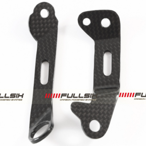 FullSix Carbon Brake & Clutch Reservoir Mount Set - Ducati Panigale