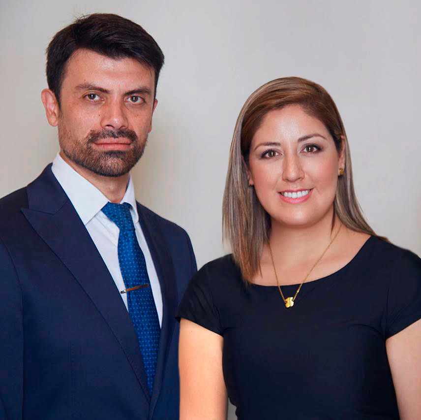 Pedro Goic y Karen Aguilera, socios de AMC Financiero.