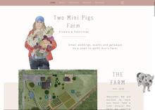 Two Mini Pigs Farm
