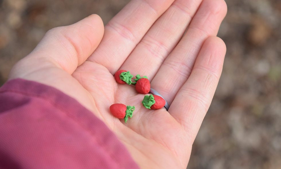 5 Tiny Strawberries