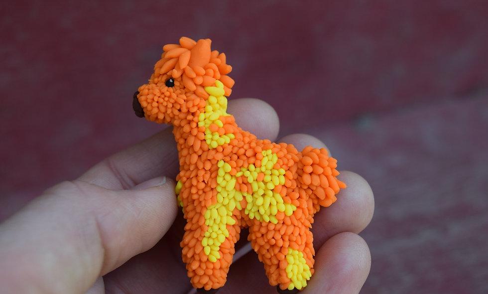 Allie Alpaca Mini Magnet
