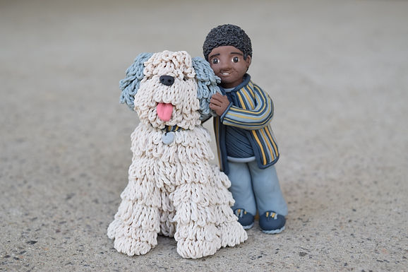 Boy & Sheep Dog