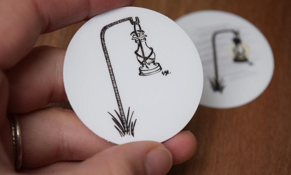 Hand Drawn Little Lantern Sticker