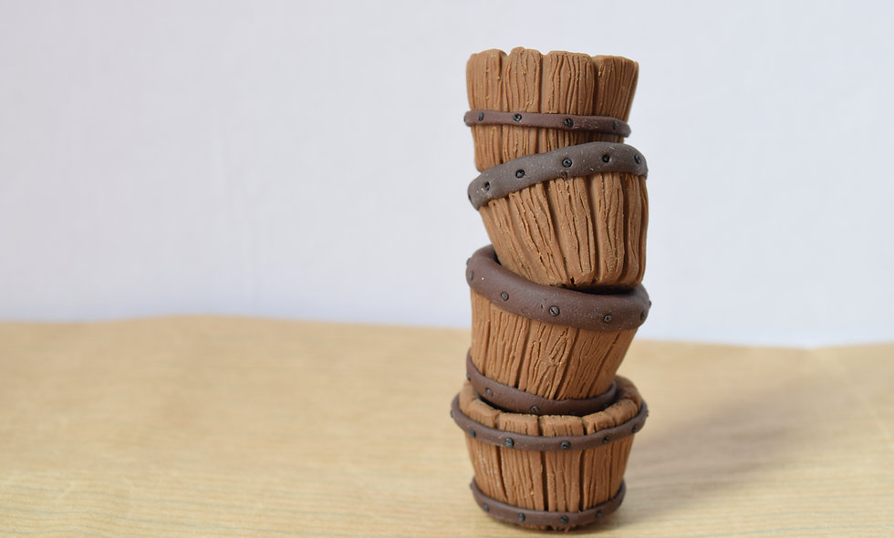 Mini Wooden Barrels