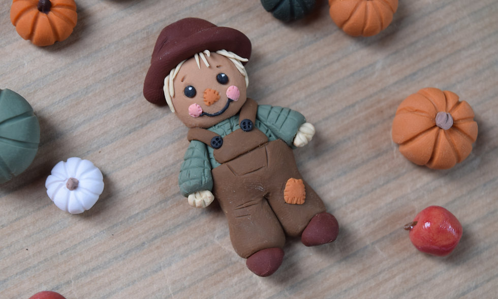 Little Scarecrow Magnet
