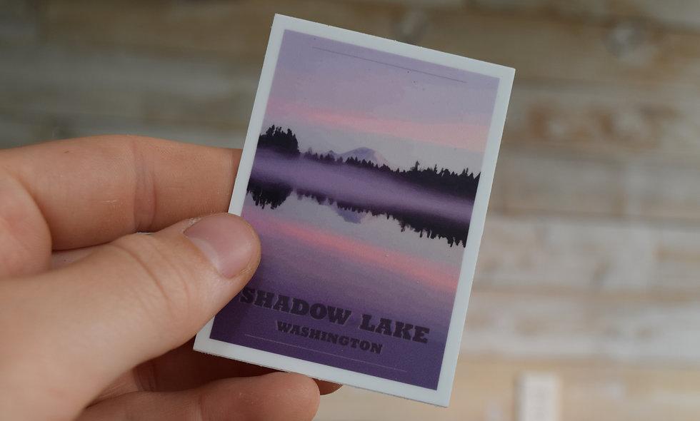 Shadow Lake Sticker