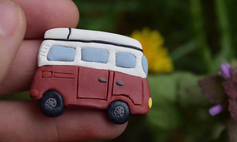 Old Van Magnet