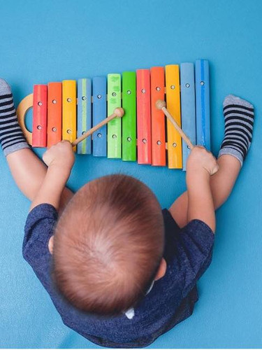 The brain is wired for musical aptitude between the ages of 0 and 9.