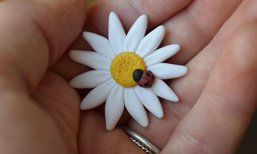 Daisy & Ladybug Magnet