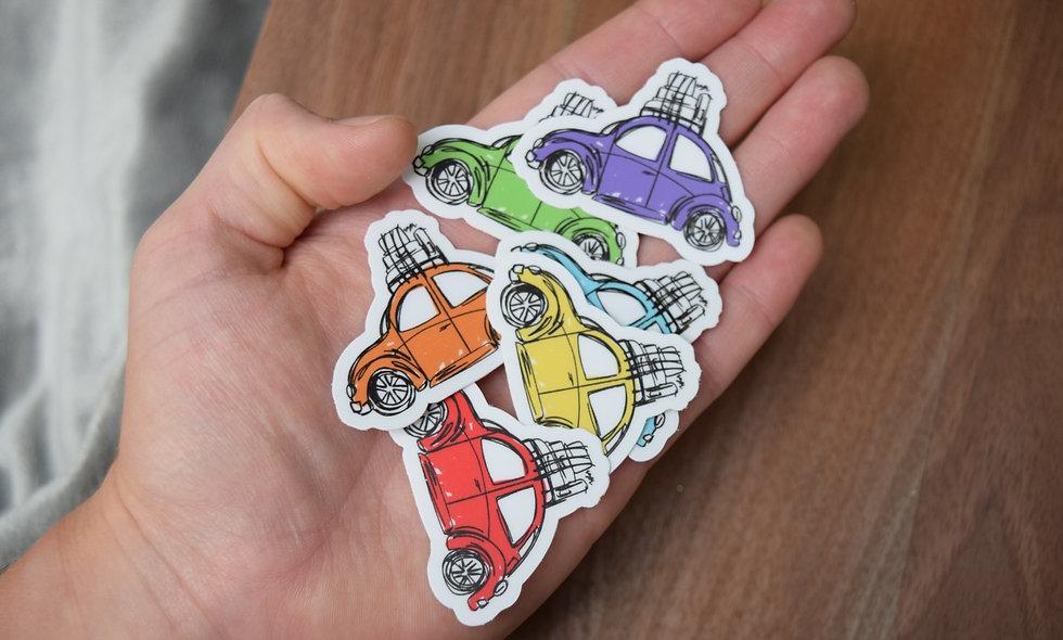 Slug Bug Sticker Pack