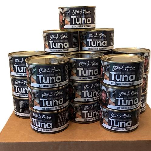 Case of 24 Big 8oz Cans of Wild Oregon Albacore Tuna