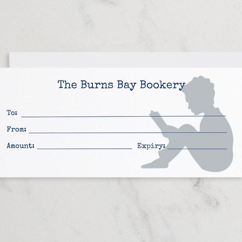 Burns Bay Bookery Gift Card