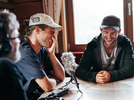 Podcast mit Laurent De Martin und Titouan Bessire: Über Stuhlgänge im Backcountry & Spaß im Backyard