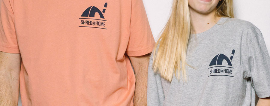 SHRED@HOME | BOARD - Rose Clay & Heather Grey