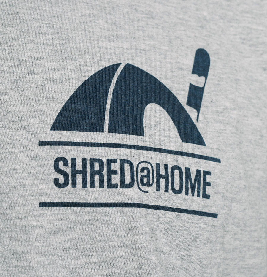 SHRED@HOME | BOARD - Heather Grey