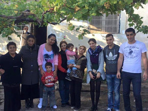 Visit To Family in Kosh Village - Family is Extreme Poverty - Oct. 11, 2015