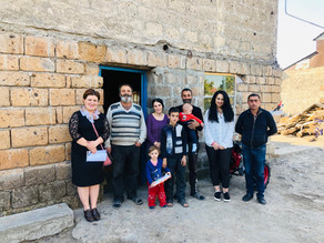 Visit to Second Family in Geghakert Village - 10/17/19