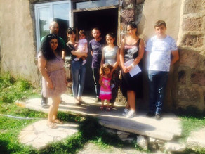 Visit to Hrazdan - Family in Extreme Poverty w/ Sick Dad -8/14/16