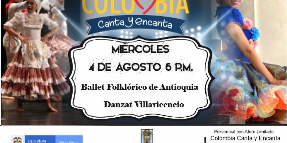 Encuentro de Danza en el Festival Colombia Canta