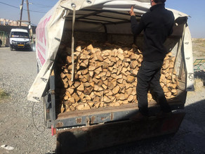 Firewood Delivered to Single Mother