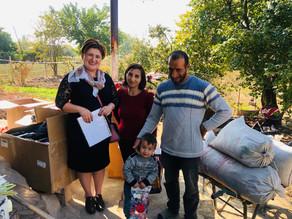 Visit to Anush & Arsen In Geghakert Village - 10/17/19