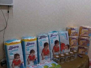 Much Needed Aid Delivered in Vanadzor