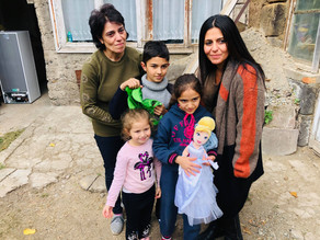 Visit to Family in Vanadzor - Anonymously Funded - 10/22/19