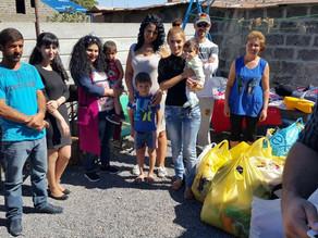 Visit to Merdzavan Village - Family in Extreme Poverty - 9/18/16