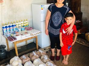 Visit to Single mother in Paraqar - Armenia - 7.5.19