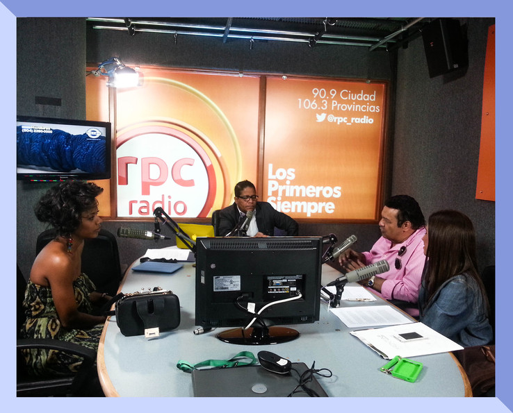 RPC Radio interview with artist Osvaldo Ayala.
