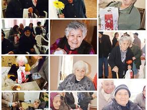 Visit to Disabled Granpas and Grandmas in Masis Region - 5/8/16