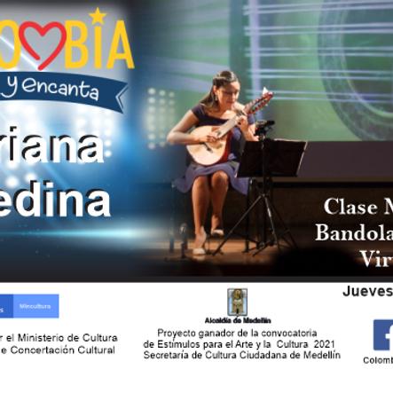 Clase Maestra:  Bandola Andina