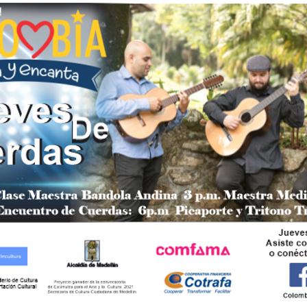 Festival Colombia Canta:  Jueves de Cuerdas