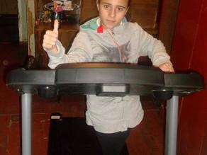Lusine's Treadmill Arrived!