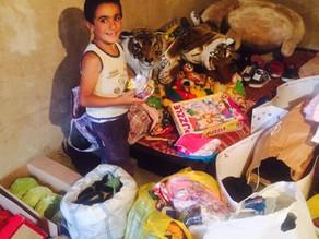 Visit to Family in Zovuni - Family in Poverty - 8/28/16