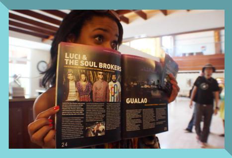 Article in Caribbean Sea Jazz Magazine (Aruba).