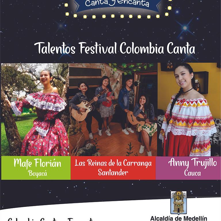 Talento Nacional: Festival Colombia Canta