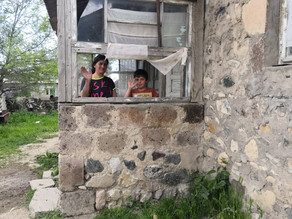 Visit to Single Mother in Areguni Village - 5/31/19 — in Areguni, Geghark'Unik', Armenia