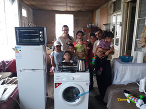 Help Delivered to Hard-Working Family - Aznvadzor Village 8/18/19