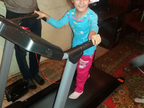 Anna's Special Treadmill Delivered! - 9/22/16